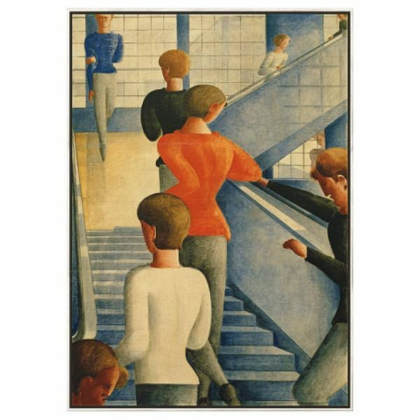 Schlemmer, Oskar: »Bauhaustreppe«, 1932