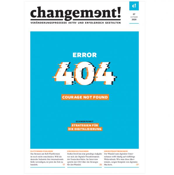 changement! Ausgabe 07/20: Strategien für die Digitalisierung