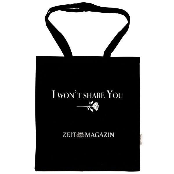 ZEITmagazin Tote Bag »I won´t share you«