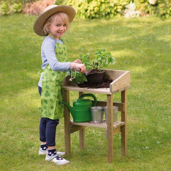 Kinder-Pflanztisch