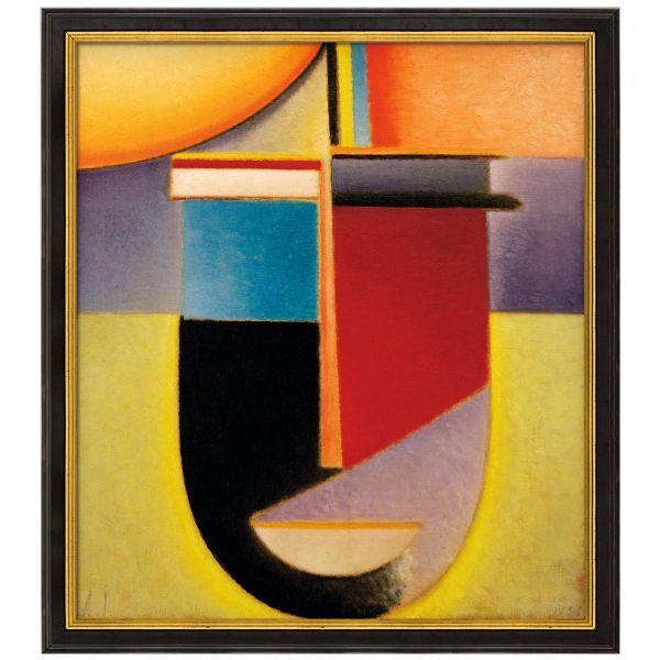 von Jawlensky, Alexej: »Abstrakter Kopf Sonne-Farbe-Leben«, 1926