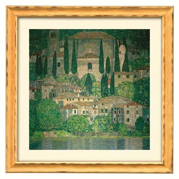 Klimt, Gustav: »Kirche in Cassone am Gardasee«, 1913