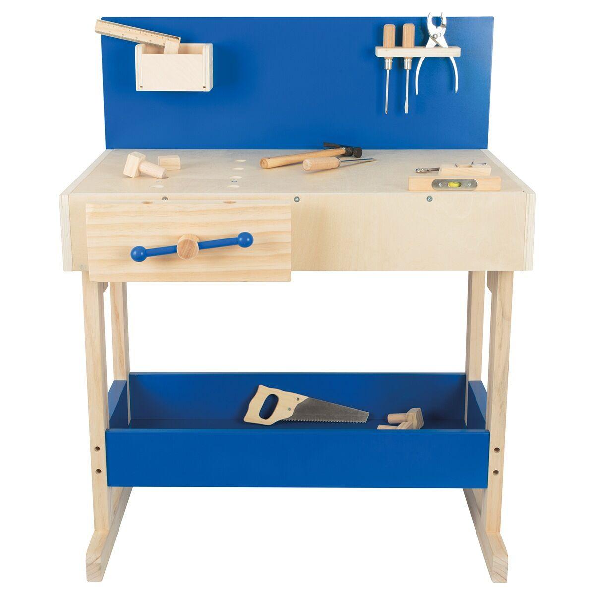 Kinderwerkbank Mit Echtem Werkzeug Basteln Selber Machen Zeit Shop