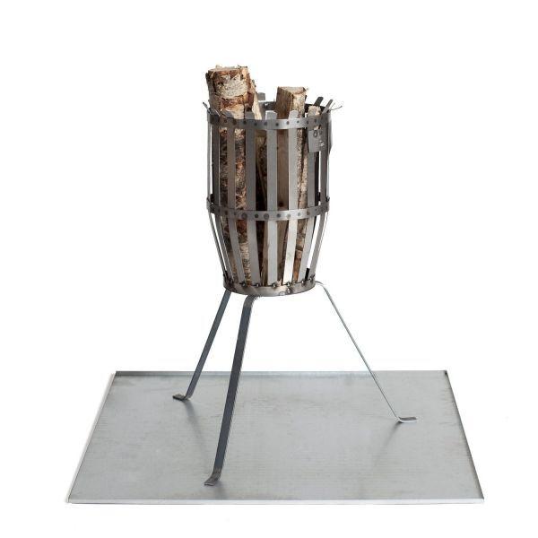 Schutzplatte für Feuerkorb
