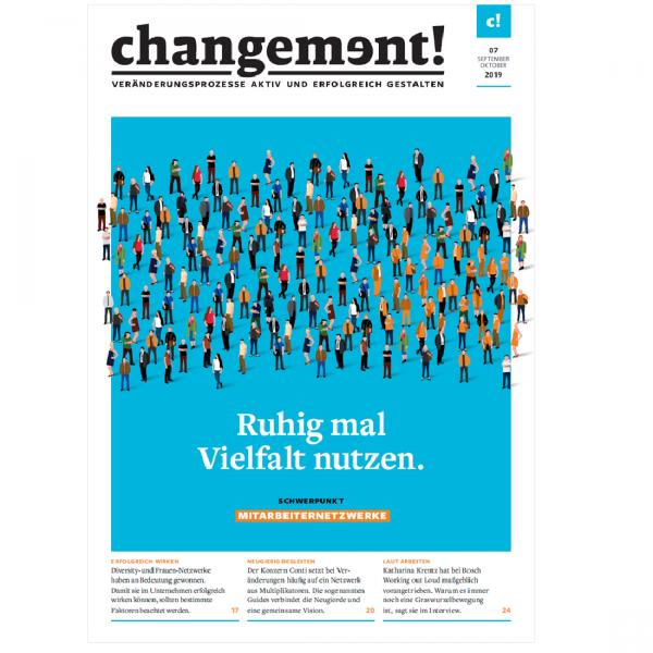 changement! Ausgabe 07/19: Mitarbeiternetzwerke