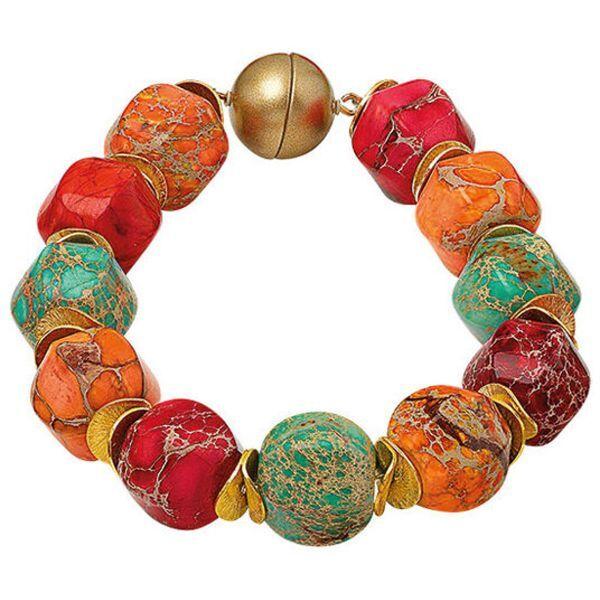 Perlenarmband »Farbenfantasie«
