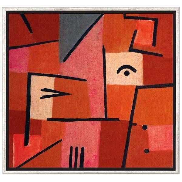 Klee, Paul: »Blick aus Rot«, 1937
