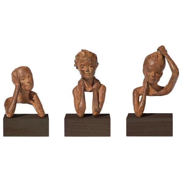 Otte, Valerie: 3 Skulpturen »Emotionen« im Set