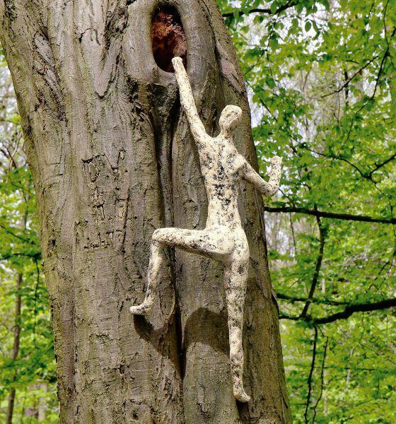 Wilting, Norbert: Gartenskulptur »Baumwächter«