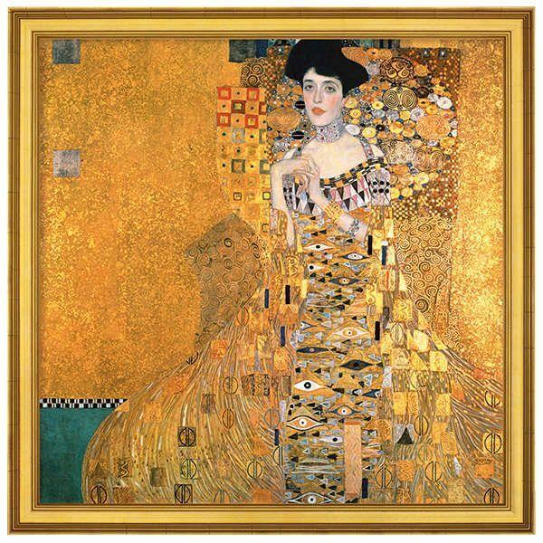 Klimt, Gustav: »Adele Bloch-Bauer I«, 1907