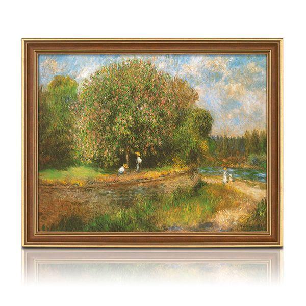 Renoir, Auguste: »Blühender Kastanienbaum«