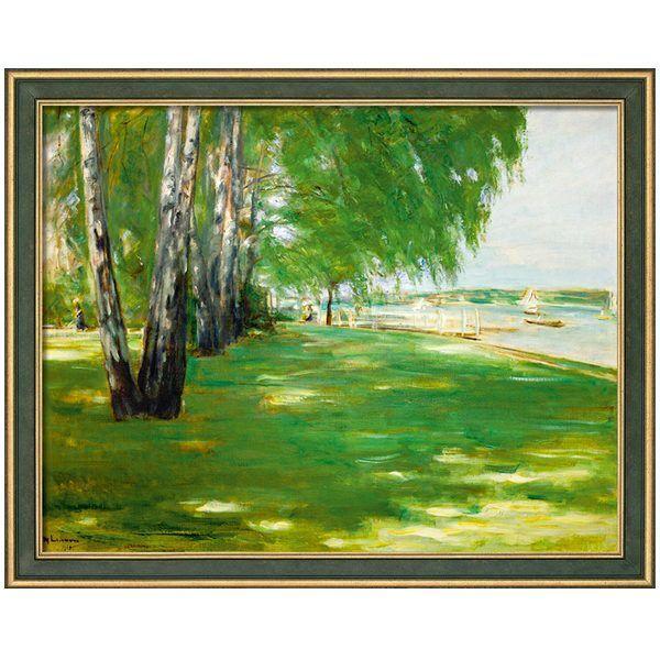 Liebermann, Max: »Der Garten des Künstlers am Wannsee«, 1918