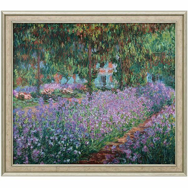 Monet, Claude: »Irisbeet in Monets Garten«, 1900