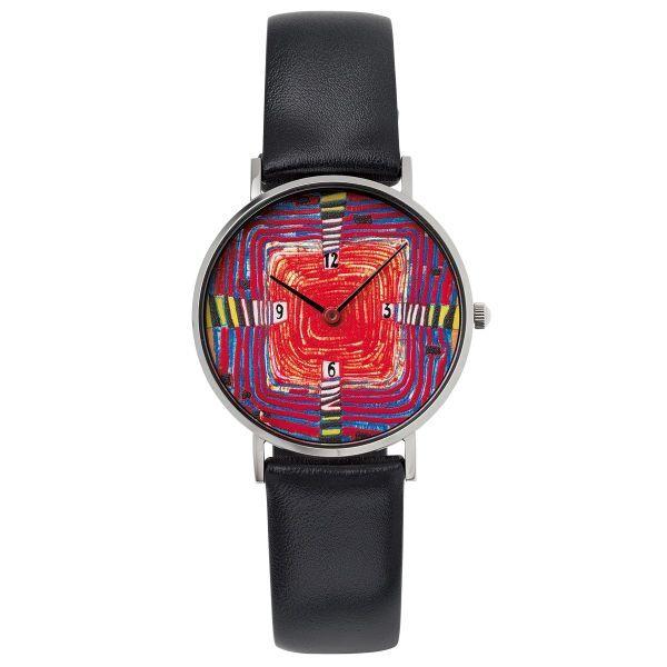 Armbanduhr »Schönheit ist zeitlos« nach Hundertwasser