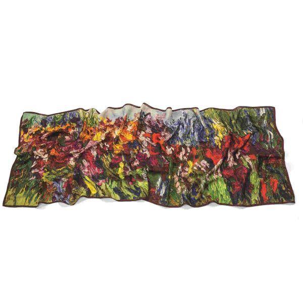Schal »Blumenwiese«, nach Ben Kamili