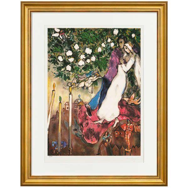 Chagall, Marc: »Die drei Kerzen«, 1938–40