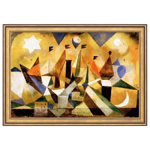 Klee, Paul: »Segelschiffe den Sturm abwartend«, 1917