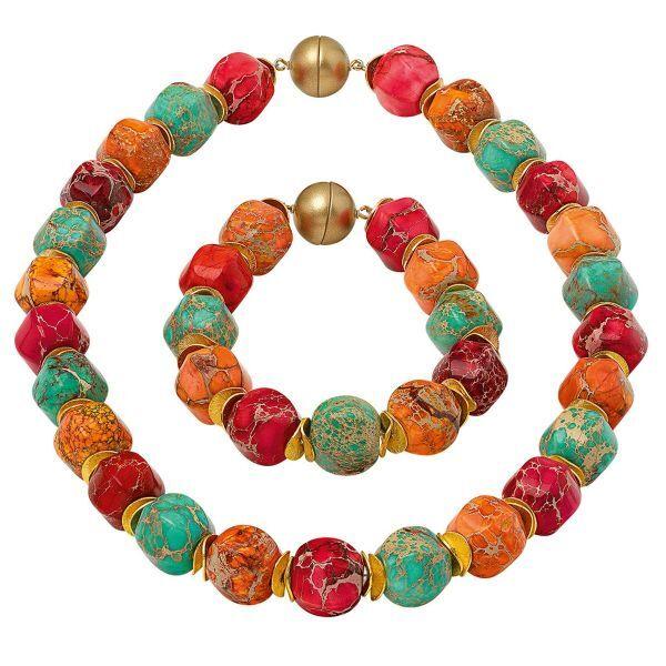 Perlen-Schmuckset »Farbenfantasie«