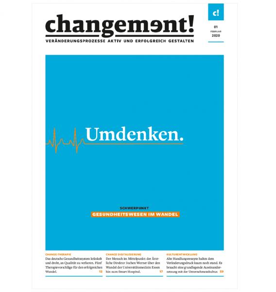 changement! Ausgabe 01/20: Gesundheitswesen im Wandel