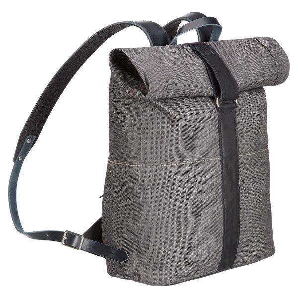 Rolltop-Rucksack aus Segeltuch
