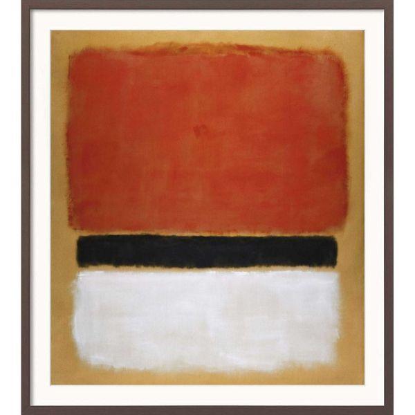 Rothko, Mark »Untitled (Red, Black, White on Yellow)«