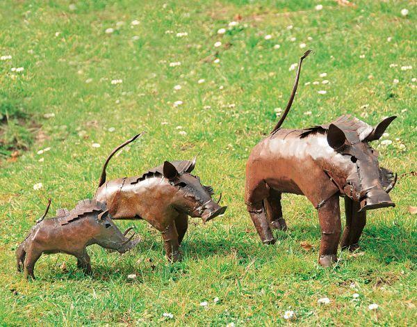 Luwagala: Gartenfigur »Warzenschwein«