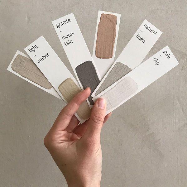 Farbfächer Lehmfarben