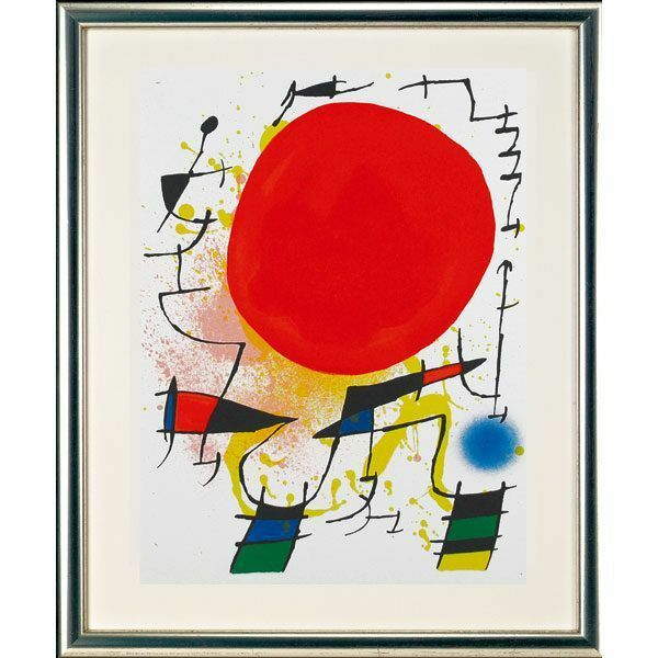 Miró, Joan: »O. T. (Sonne)«, 1972