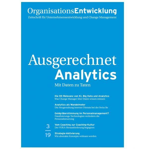 OrganisationsEntwicklung 03/2019: Ausgerechnet Analytics