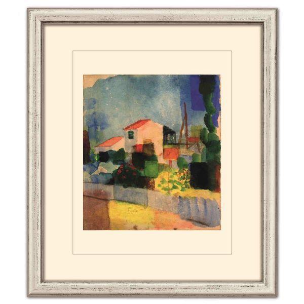 Macke, August: »Das helle Haus«, 1914