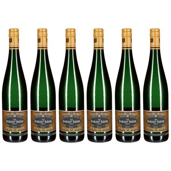 Bernkasteler Badstube Riesling Spätlese, Vintage Collection, 2008 (6 Flaschen)