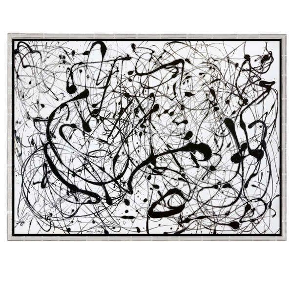 Pollock, Jackson: »Number 14: Gray«, 1948