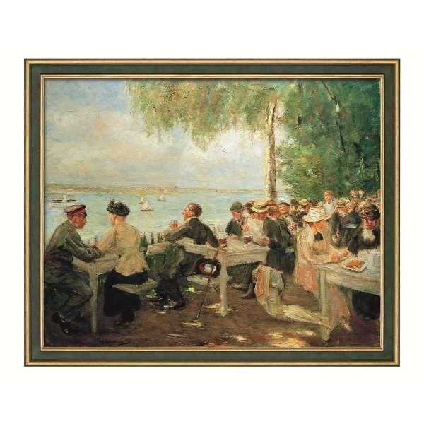 Liebermann, Max: »Gartenlokal an der Havel - Nikolskoe«, 1916