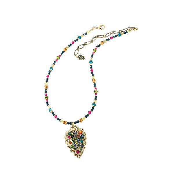 Collier »Multi Flower Kristall« nach Michal Golan