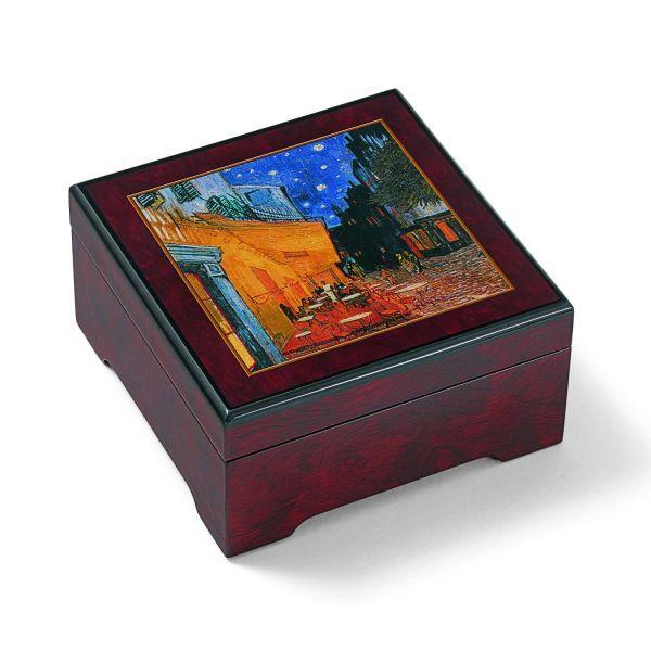Musik-Schmuckbox »Nachtcafé«, nach Vincent van Gogh