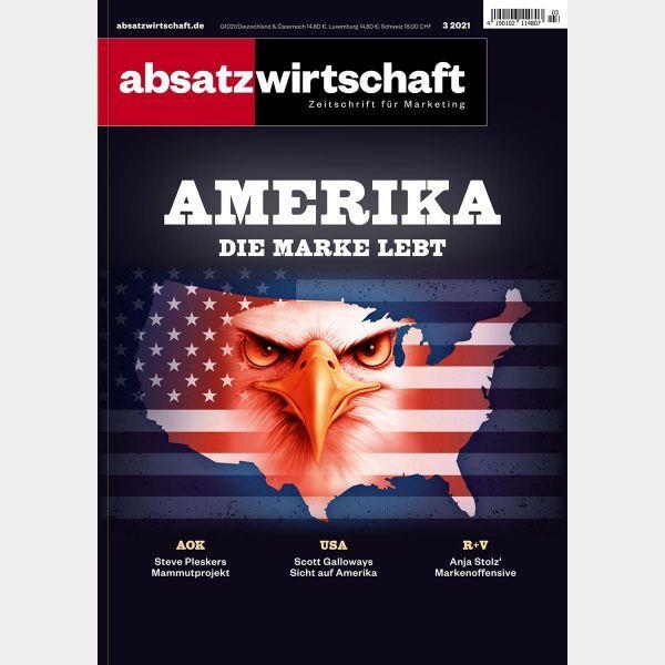 absatzwirtschaft Print: Amerika – Die Marke lebt