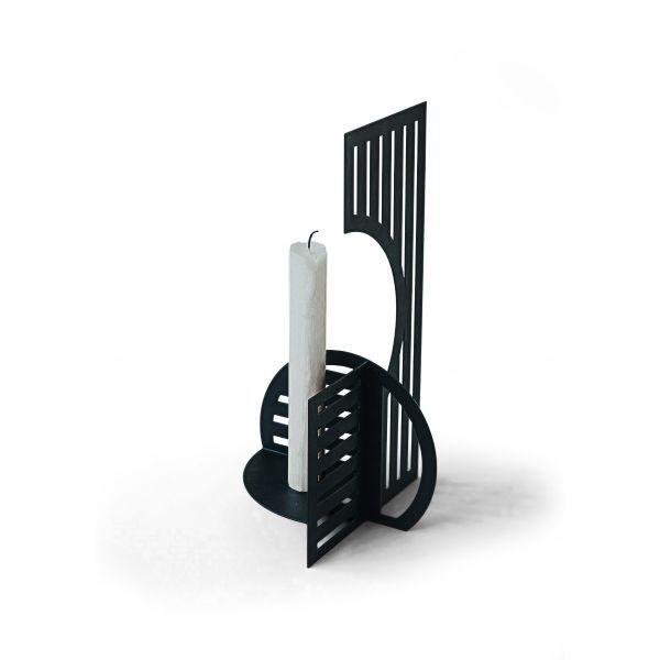 Kerzenhalter »Smilla« im Bauhausstil