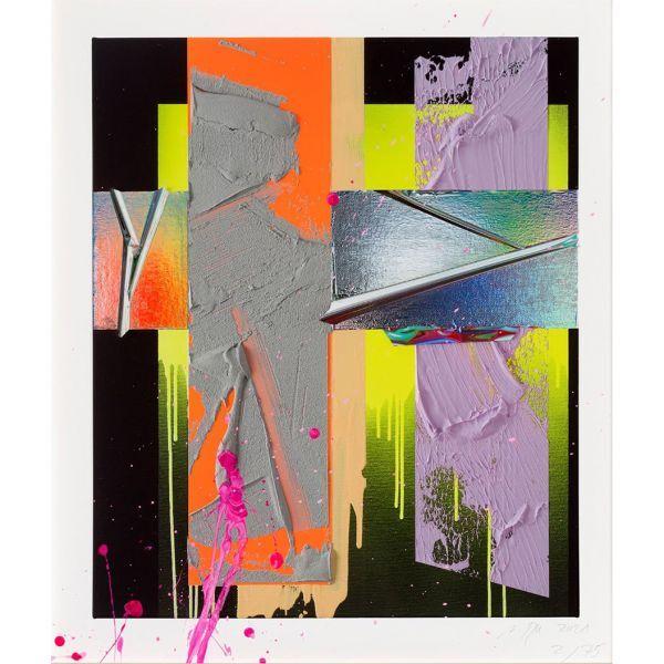 ZEIT-Jubiläumsedition »Time« von Anselm Reyle