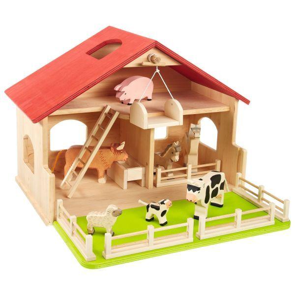 spielzeug bauernhof oder krippe spielzeug accessoires. Black Bedroom Furniture Sets. Home Design Ideas
