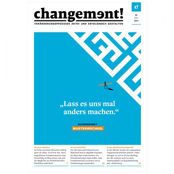 changement! Ausgabe 02/21: Musterwechsel