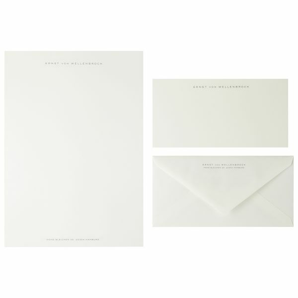A4-Briefpapier, anthrazit